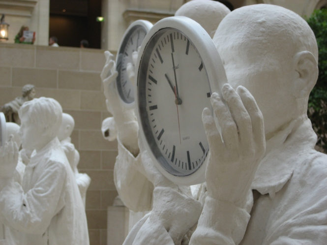 Statues and Clocks 01