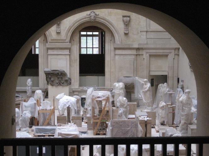 Statues Under Wraps 02