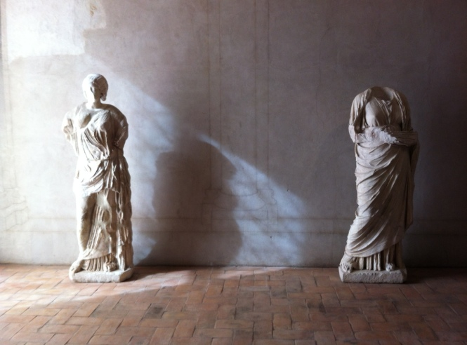 Two Statues Barberini
